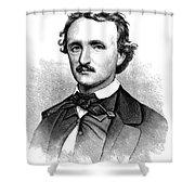 Edgar Allan Poe (1809-1849) Shower Curtain