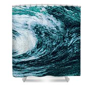Edge Of Disaster Shower Curtain