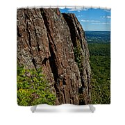 Edge Of The Mountain Shower Curtain
