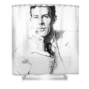 Edmund Clerihew Bentley Shower Curtain