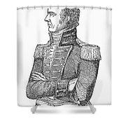 Edmund Pendleton Gaines Shower Curtain