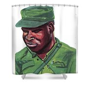 Eduardo Mondlane Shower Curtain