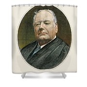 Edward Douglass White Shower Curtain by Granger