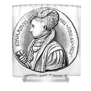 Edward Vi (1537-1553) Shower Curtain
