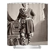 Edwin Booth (1833-1893) Shower Curtain