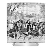 Effects Of Emancipation Proclamation Shower Curtain