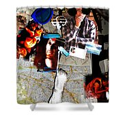 Egypt 2012 Road Travels Preparations Shower Curtain