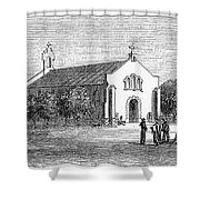 Egypt: El Guisr Church, 1869 Shower Curtain