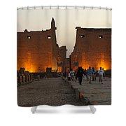 Egypt Luxor Temple Shower Curtain