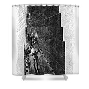 Egypt: Pyramid Interior Shower Curtain
