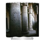 Egypt: Temple Of Hathor Shower Curtain