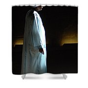 Egyptian Portrait 1 Shower Curtain