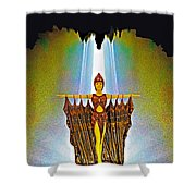 Egyptian Princess Shower Curtain