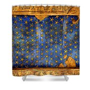 Egyption Night Sky Shower Curtain