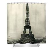 Eiffel Tower 1890 Shower Curtain
