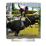 Rodeo Eight Seconds Shower Curtain