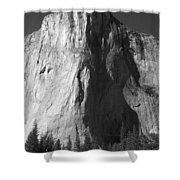 El Cap Face On Shower Curtain