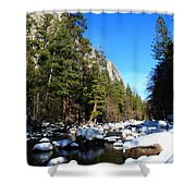 El Capitan's Creek Shower Curtain