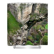 El Tayo River Gorge In Ronda Shower Curtain