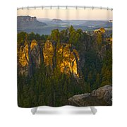 Elbe Sandstone Highlands Shower Curtain