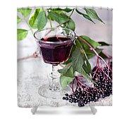 Elderberries 04 Shower Curtain
