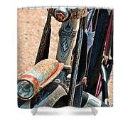 Electra Bicycle II Shower Curtain