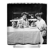 Electric Cookware, 1908 Shower Curtain