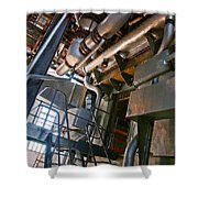 Electric Plant Shower Curtain