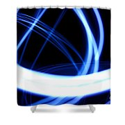 Electric Swirl Shower Curtain
