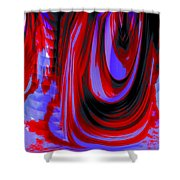 Electric Underground Shower Curtain