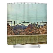 Electricity Flow Shower Curtain