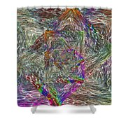 Electrified 3 Shower Curtain