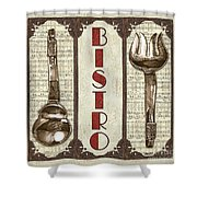 Elegant Bistro 1 Shower Curtain