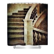 Elegant Staircase Shower Curtain