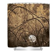 Element Shower Curtain by Lourry Legarde