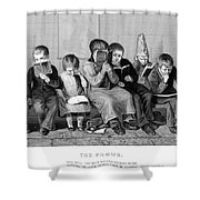 Elementary School Shower Curtain by Granger