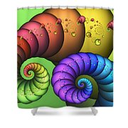 Elephantine Shower Curtain