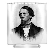 Elias Loomis, American Mathematician Shower Curtain by Science Source