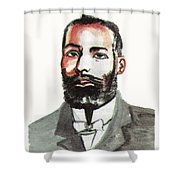 Elijah Mccoy Shower Curtain
