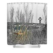 Elijahs Chair Shower Curtain