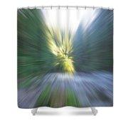 Elkhorn Abstract 2 Shower Curtain