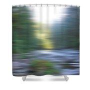 Elkhorn Abstract Shower Curtain
