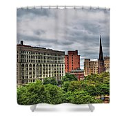 Ellicott Square Building     St. Joseph Cathedral     Prudential Guaranty Building Shower Curtain