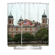Ellis Island Shower Curtain