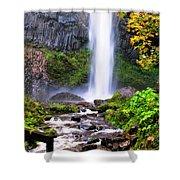 Elowah Falls 2 Shower Curtain