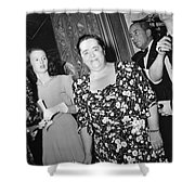 Elsa Maxwell (1883-1963) Shower Curtain