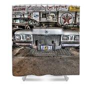 Elvis' Cadillac Shower Curtain