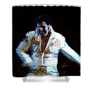 Elvis Is Alive Shower Curtain
