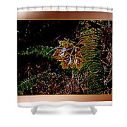 Elwha Leaf Shower Curtain