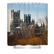 Ely Cathedral Scenic Shower Curtain